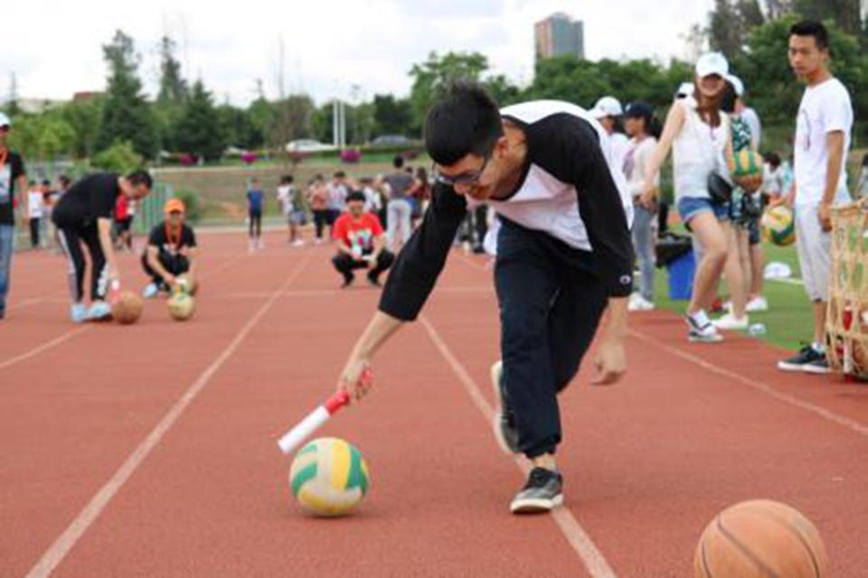 生命因参与而精彩——记第二届心理趣味运动会