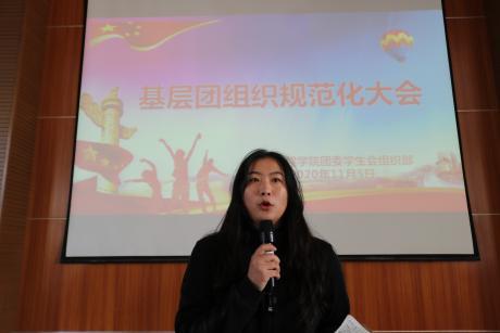基层团组织规范化大会